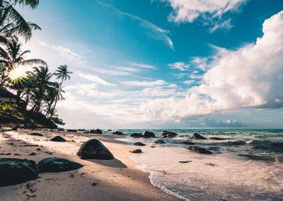 Beautiful beach on Fraser Island