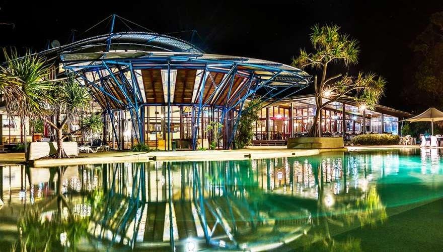 King fisher Bay restaurant | Fraser island realty