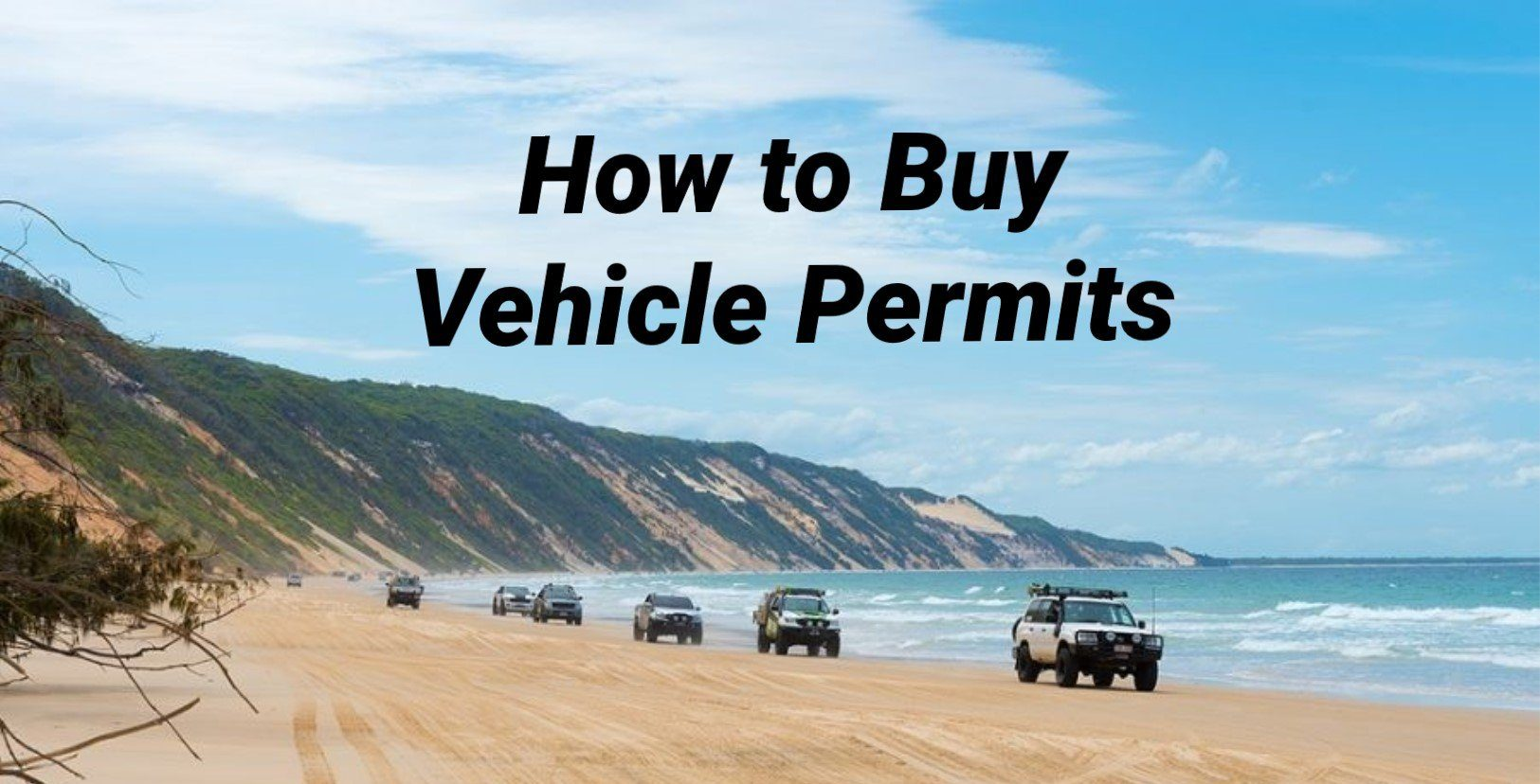 Vehicle Permits | Fraser Island Realty